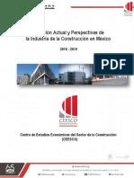 Situación actual y perspectivas de la industria de la construcción en México