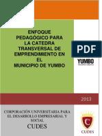 Enfoque Padagogico Catedra Transversal Emprendimiento Yumbo