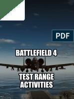 Battlefield 4 test range activities tutorial video ideas