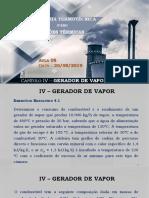 2019-IT_IV-Gerador de Vapor (Aula 8)