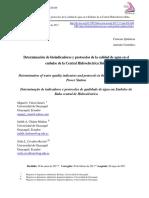 Dialnet-DeterminacionDeBioindicadoresYProtocolosDeLaCalida-6326670