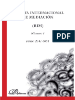 Revista Internacional de Mediación. Número 1, 2014