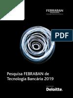 Pesquisa Febraban de Tecnologia Bancaria 2019