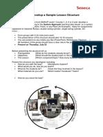 2 Task 1 - Sample Lesson Mechatronics System