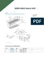 Ex200 6bd1 Cylinder Head Hitachi