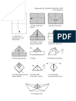 Origami -čamac