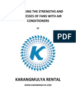 Comparing the Strengths and Weaknesses of Fans With Air Conditioners