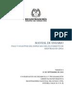 Manual de Usuario - Trámites Web Con Pago en Línea