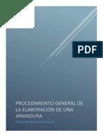 Elaboración de Un Procedimiento General Para Para La Evaluación de La Armadura