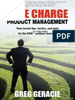 Take Charge Product Management by Geracie Greg