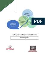 Guía Los Proyectos de Mejoramiento Educativo Lic PADEP