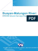 DREAM Ground Surveys for Buayan Malungon River