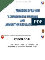 RA 10591 Firearms Law