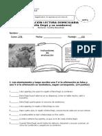 Evaluación Delia Degú y Su Sombrero. 2 b