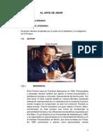 Analisis Literario El Arte de Amar