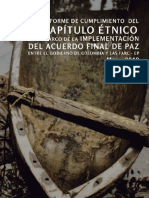 1er Informe Cumplimiento Cap Etnico Paz