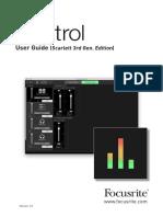 Focusrite Control Scarlett 3G_v1.1