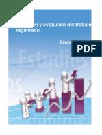 Trabajadores registrados del sector privado por provincias