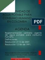 Agua Potable en Colombia