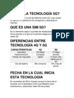 Que Es La Tecnología 5g