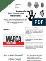 Marca personal conferencia - un nuevo enfoque