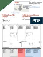 Business Canvas Model presentation