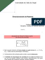 cinetica de reatores quimicos