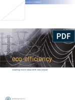 Eco Efficiency Creating More Value