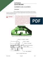 Block Machine 16HF 1600 Height Instruction Manual