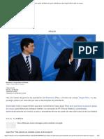 Cinco Frases de Bolsonaro Para Entender Por Que Força de Moro Está Em Xeque