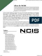 Episodios de NCIS - Wikipedia, La Enciclopedia Libre