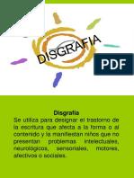 Disgrafia y Dislexia