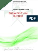 Breakfast Burger Manual
