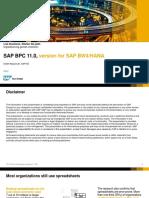SAP BPC 11