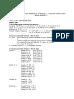 Programa de Piano Superior I a IV