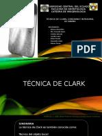 TECNICA DE CLARK, DONOVAN E INTRAORAL DE PARMA