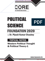 Western Political Thought & Political Theory-1