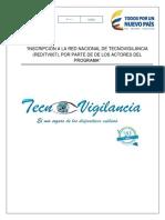 Manual de Operacion Inscripcion en Linea a La Red Nacional de Tecno