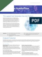 Bitdefender 2017 Datasheet GravityZone EliteSecurity