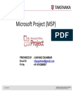 Ms Project Basic Guide Part 1- Scheduling