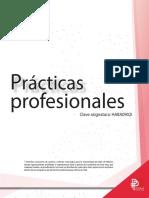 Texcoco Ls Syllabus Prácticas Profesionales