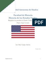 Biografia de Los Presidentes de Estados Unidos de America