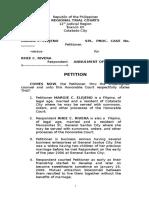 Petition of Elenjeno