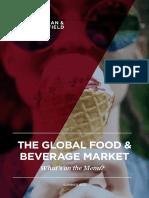 Global Food Beverage Market Summer 2017