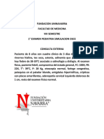 Examen Consulta Externa Formato Osce
