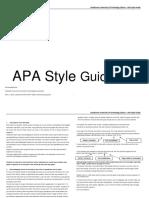 Apa Quick Guide New 2019