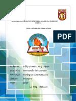 Seminario de Formación Ministerial Asambleas de Dios de Bolivia