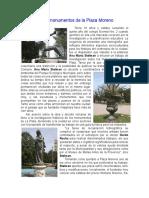 Los Monumentos de La Plaza Moreno