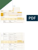 Matriz de Evaluacion de Logros Ambientales