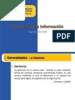 GERENCIA DE LA INFORMACION